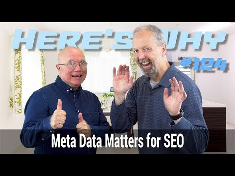 Meta data Matters for SEO: Here's Why