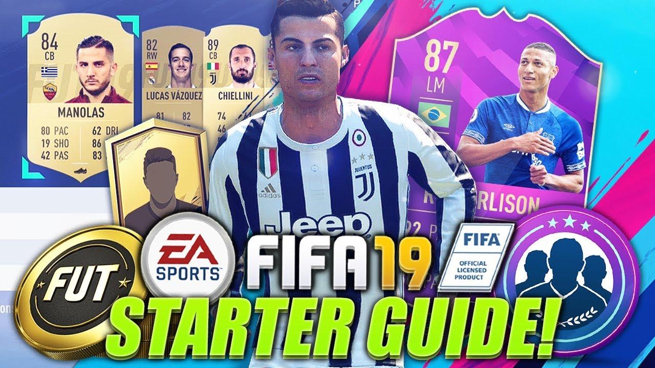 HOW TO START FIFA 19! (Web App Trading & Investing Tips, Starter Packs & More!) - YouTube