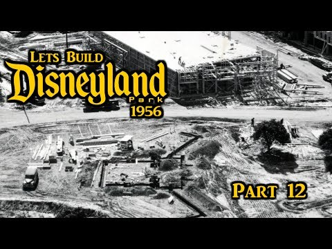 Lets Build DISNEYLAND 1956 Part 12 | The Plaza - Red Wagon Inn!!
