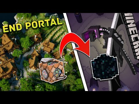 HOW To Get END PORTAL BLOCKS!! In Minecraft Bedrock Edition