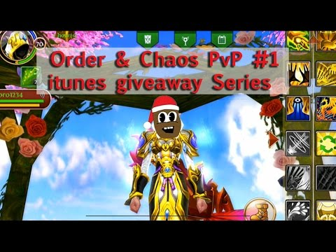 Order & Chaos - PvP Arena #1 - ITunes Google Play Giveaway Series