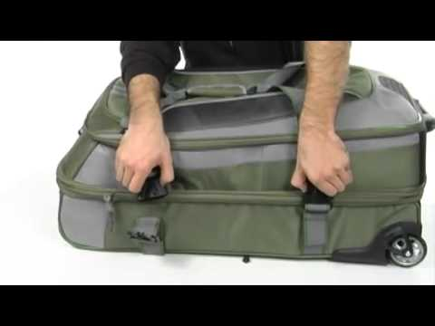 High Sierra At 6 32 Expandable Wheeled Duffel W Backpack Straps Sku 8031209 You