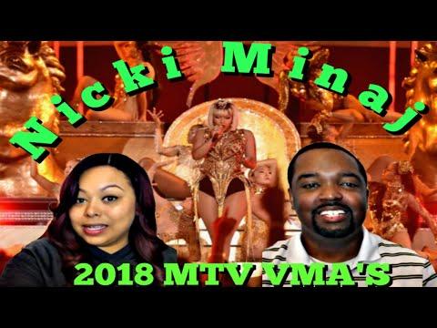 Nicki Minaj Performs 'Majesty', 'Barbie Dreams' & More (Live Performance) | 2018 MTV VMAs (REACTION)