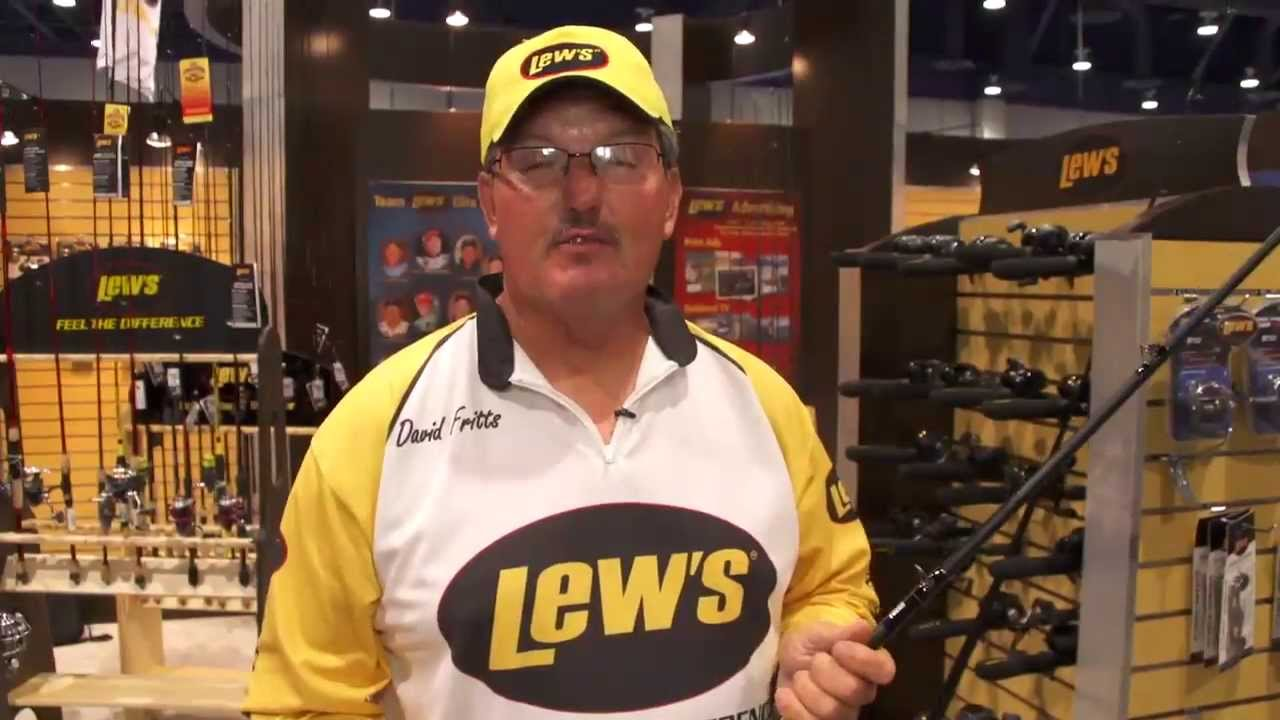 Lew's David Fritts Crankbait Speed Stick Casting Rods with David Fritts    ICAST 2013