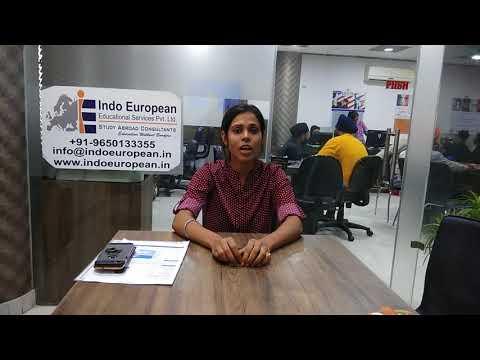 Our Student Ms. Krishna got study Visa for Estonia