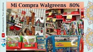 Mi Compra Walgreens 80%😉 Que encontraron ustedes.