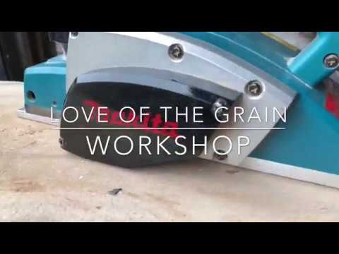 Step-by-Step DIY 10 min Makita N1900B Electric Power Planer Blade Replacement Setting Adjustment