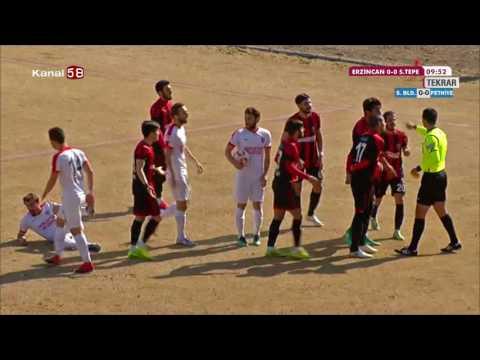 Erzincan - Sancaktepe Belediye Spor Maçı 2017 Maçın Tamamı
