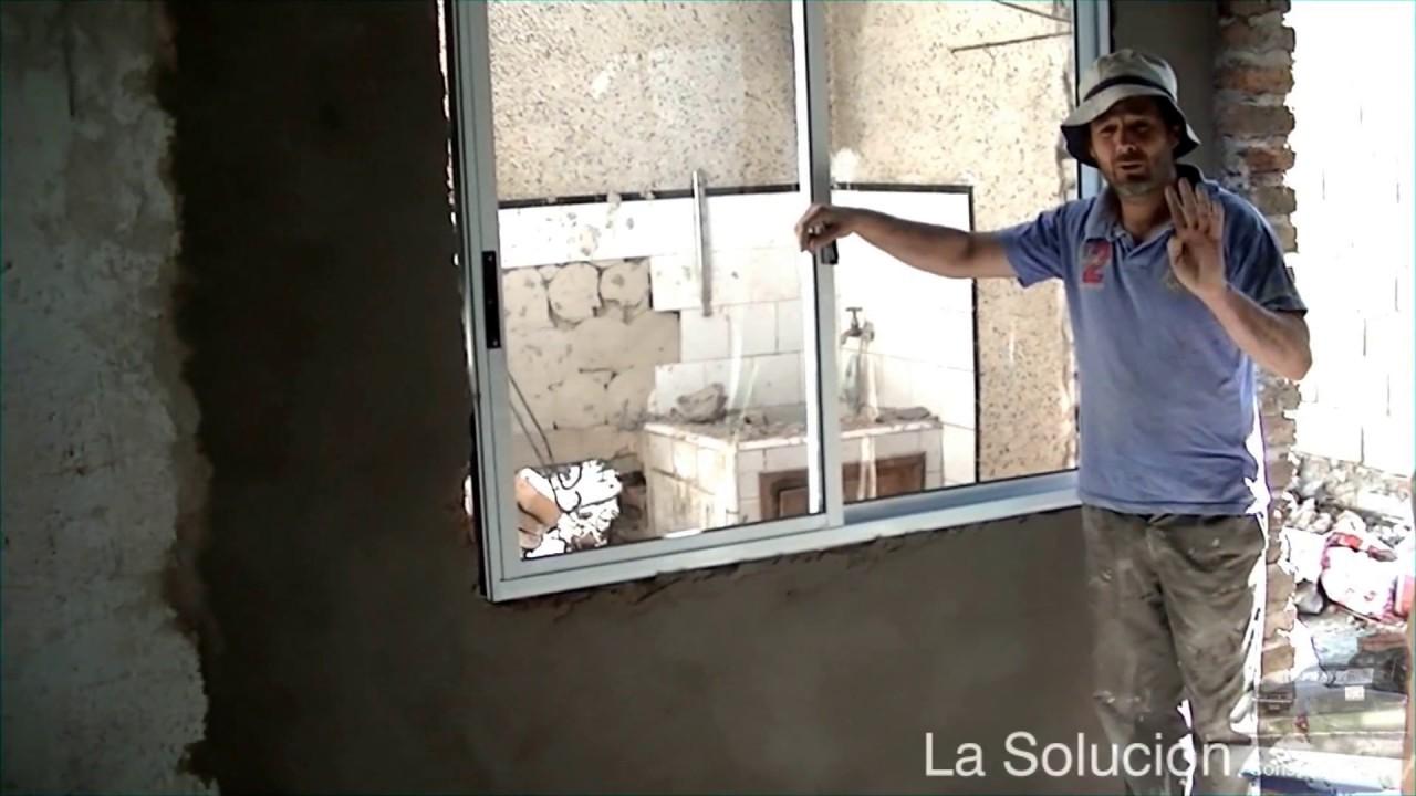 Amurar puertas y ventanas youtube for Como hacer una puerta de madera