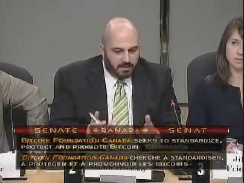 Bitcoin Advocates Represent At Canadian Senate Hearings On Digital Currency (English)