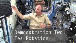Teaching from Space: Centripetal Force