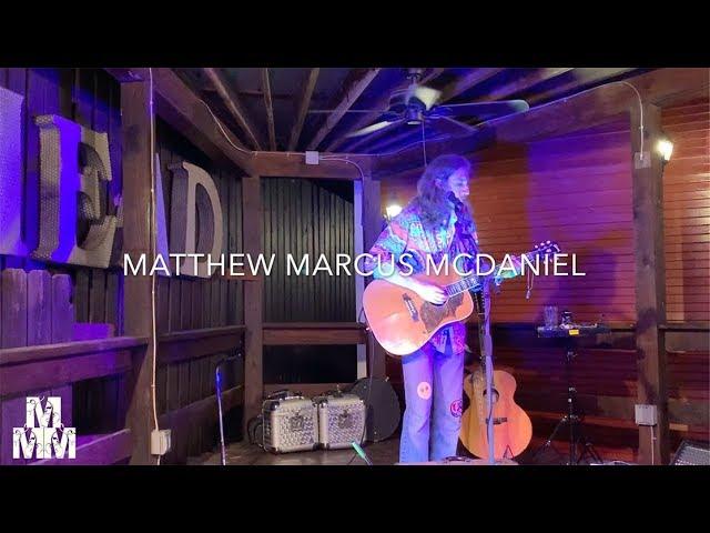 Matthew Marcus McDaniel I No Time to Waste I 10.5.19 I Grateful Head, Hochatown, OK