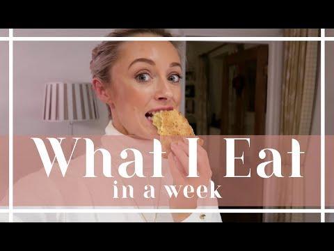 WHAT I EAT IN A WEEK // Weekly food & workout vlog // Fashion Mumblr