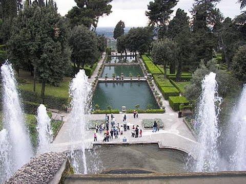 Fontane Di Villa D'Este - Villa D'Este Fountains - Tivoli (Roma)