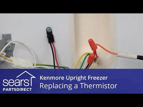How to Replace a Kenmore Upright Freezer Thermistor - YouTube Kenmore Wiring Diagram on
