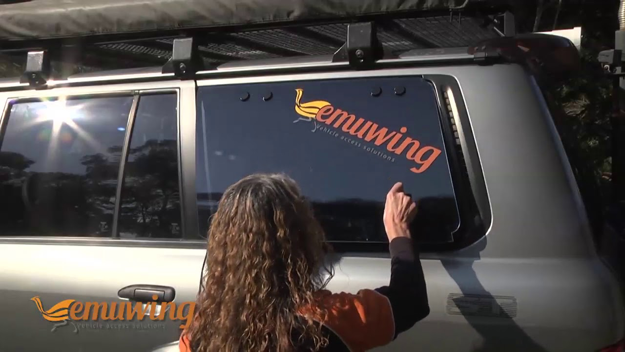 Emu Wing | Gull Wing complete rear side window replacement