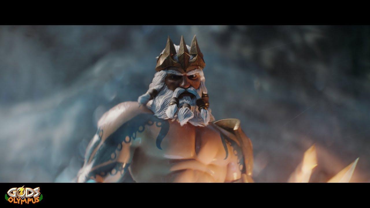 Gods Of Olympus Poseidon Cinematic Trailer