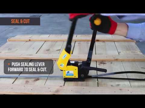 Macroleague Steel Strapping Tool | PowerPak Packaging