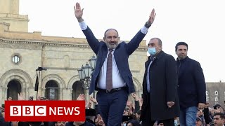 Armenia PM accuses army of attempted coup - BBC News