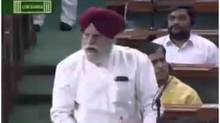 SS Ahluwalia - Lok Sabha India Bangladesh