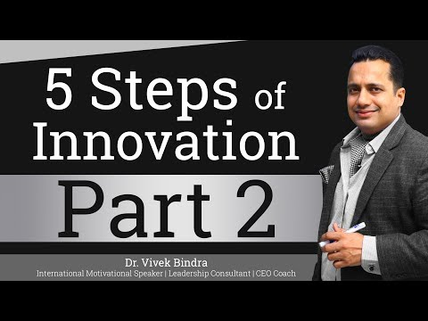 5 Steps of Innovation | Part 2 | Hindi | By Dr Vivek Bindra | Leadership Trainer