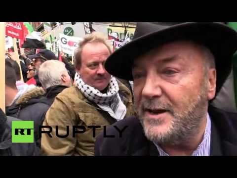 'Britain to blame for Israeli-Palestinian conflict' – George Galloway