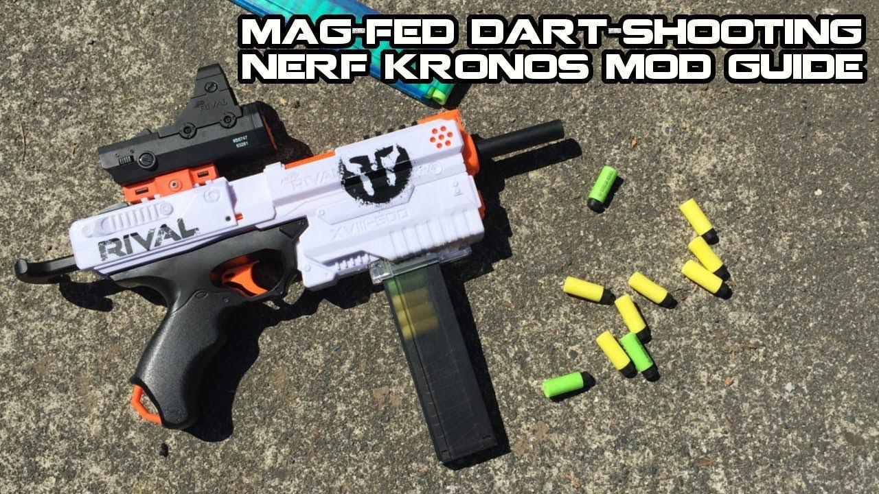 Журнал Мод Девушка |  Make Your NERF RIVAL KRONOS Half-dart Magazine