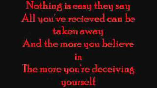 Deadsoul Tribe - Lost In You with lyrics