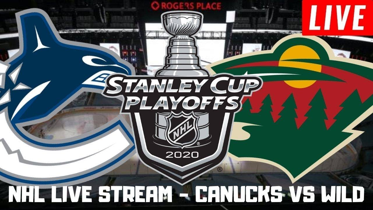 Vancouver Canucks vs Minnesota Wild Game 3 Live | Stanley Cup Playoffs Play by Play Stream