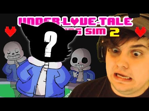 DATING SANS... This Went Horribly Wrong!! | UnderLOVETale - An Undertale Dating Sim GAME