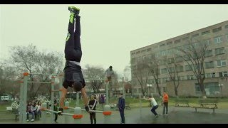 Street Workout 2016 Freestyle bar - (shot on RED Scarlet-X) - 4K