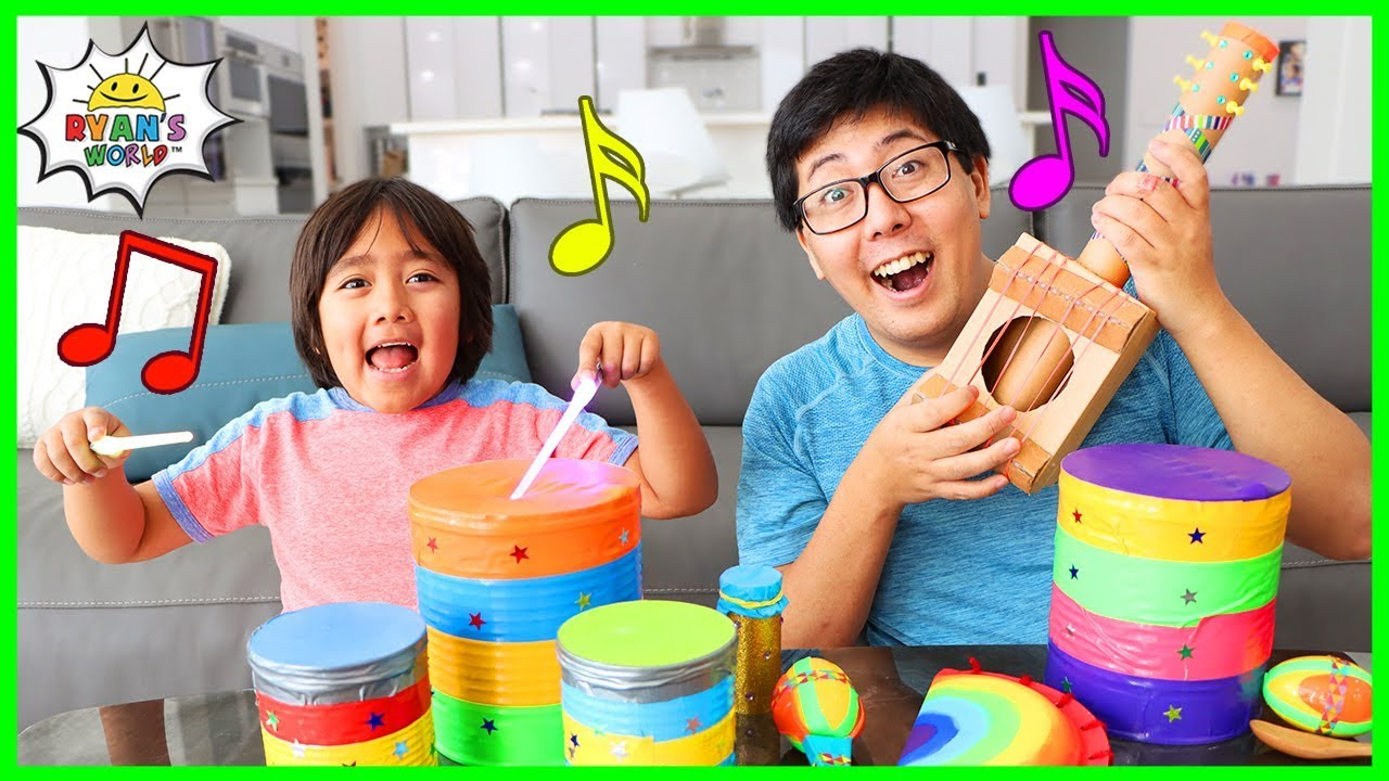 How to make DIY Musical Instruments for Kids!!