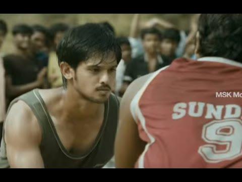 Nakul's Basketball Challenge - Vallinam Tamil Movie Scene
