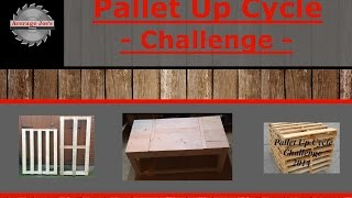 Pallet Up Cycle Challenge - Ultra Low Work Bench Was Coffee Table
