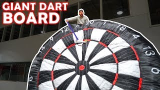 GIANT Hockey-Dart Trick Shots PART 2 | SweetSpotSquad