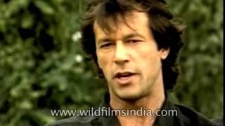 Mansoor Ali Khan Pataudi and Pakistani Cricketer Imran Khan speak about one day cricket
