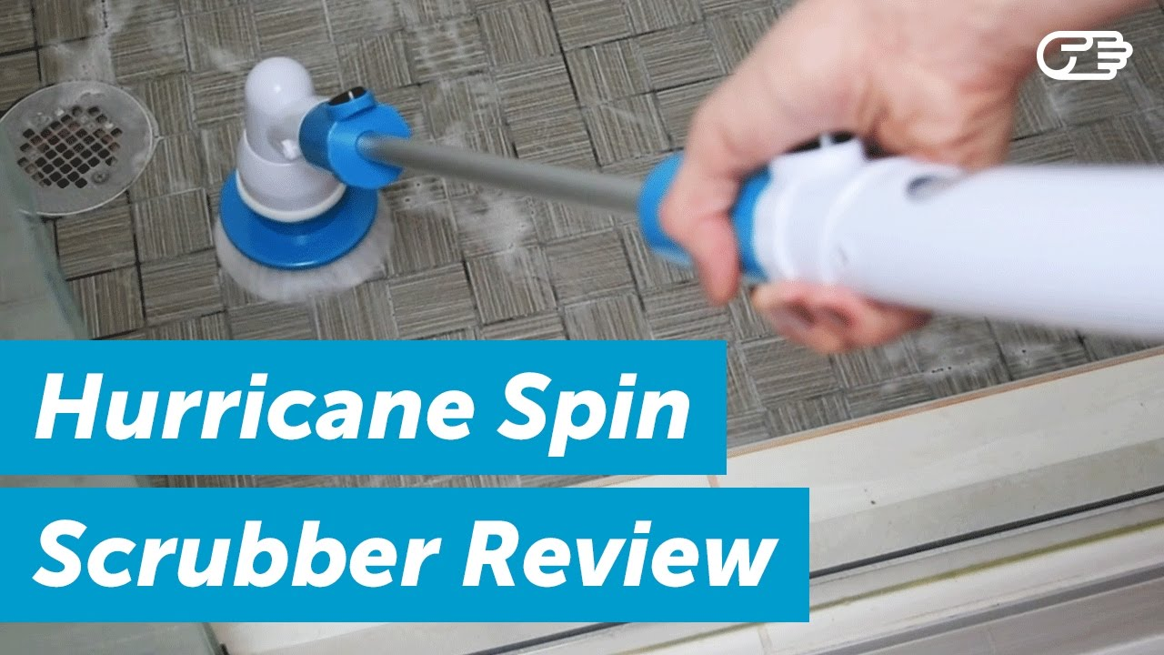 hurricane spin scrubber review highya youtube. Black Bedroom Furniture Sets. Home Design Ideas