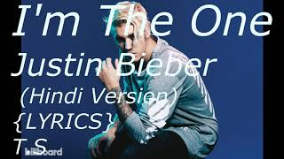Dj khaled I'm the one justin bieber Hindi version