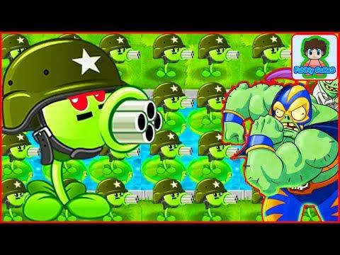 ЭКСПЕРЕМЕНТ в игре РАСТЕНИЯ ПРОТИВ ЗОМБИ 2 мультик игра прикол для детей Plants vs Zombies 2 mod pc