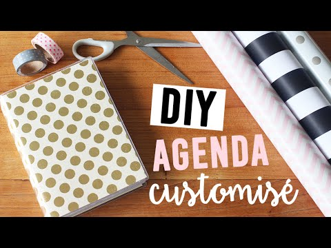 diy customiser son agenda camillegrandxo youtube. Black Bedroom Furniture Sets. Home Design Ideas
