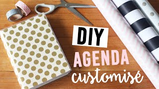 DIY - Customiser son agenda | camillegrandxo