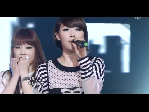 4minute - Heart To Heart live HD 10.4.11 :MusicBank: