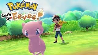 LEGENDARNY MEW! BROCK TWARDY JAK SKAŁA? - Pokemon Let's Go Eevee #2 [PO POLSKU]