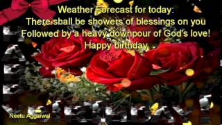 Happy Birthday Wishes With Blessings,Prayers, Messages,Quotes,Music