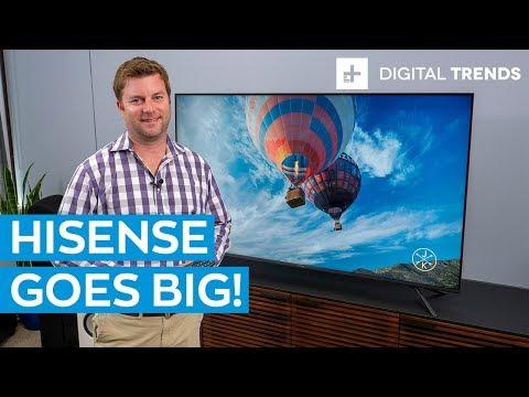 Hisense H8F Unboxing and Basic Setup -- The best budget TV of 2019?