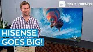 Hisense H8F Unboxing and Basic Setup -- The best budget TV of 2019?