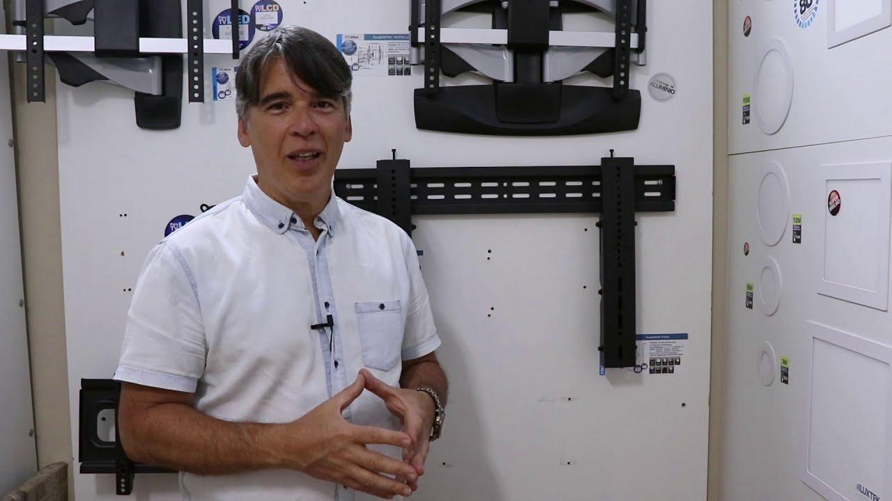 """SUPORTE VIDEOWALL RETRÁTIL PARA MONITOR LCD / LED DE 37"""" A 70"""" COM POP-OUT - FT-VW46T FIXATEK"""
