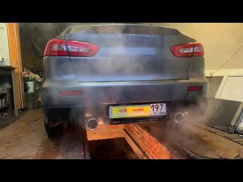 Mitsubishi Lancer (Мицубиси Лансер) Тюнинг выхлопной системы ! г.Истра АвтоСервис глушителей