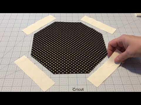 Sewing Octagon Quilt Blocks
