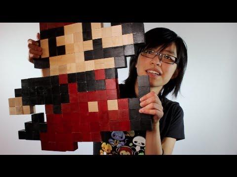 sc 1 st  YouTube & Super Mario Wall Art [DIY GG Inspired] - YouTube